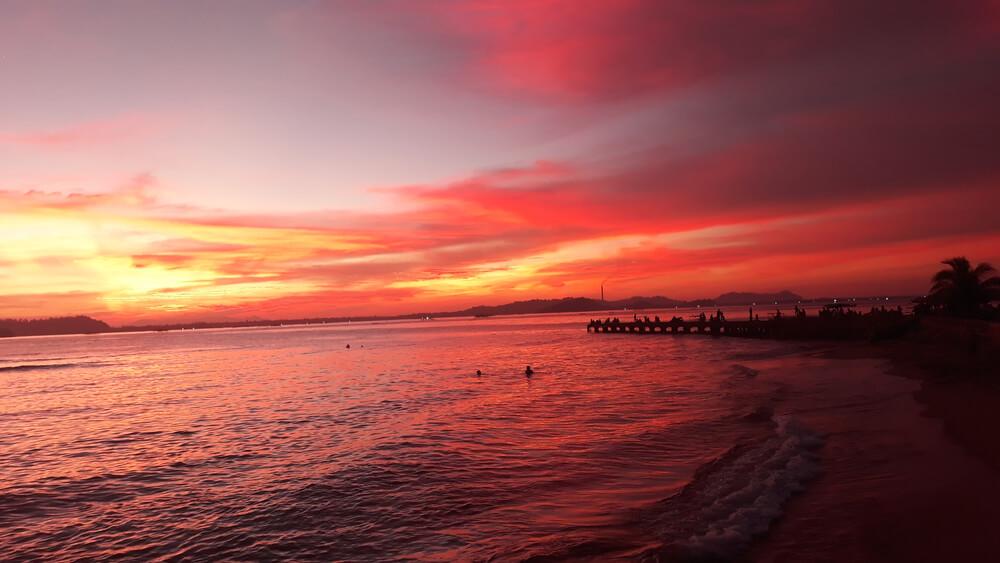 Keindahan dari Pantai di Kota Sibolga