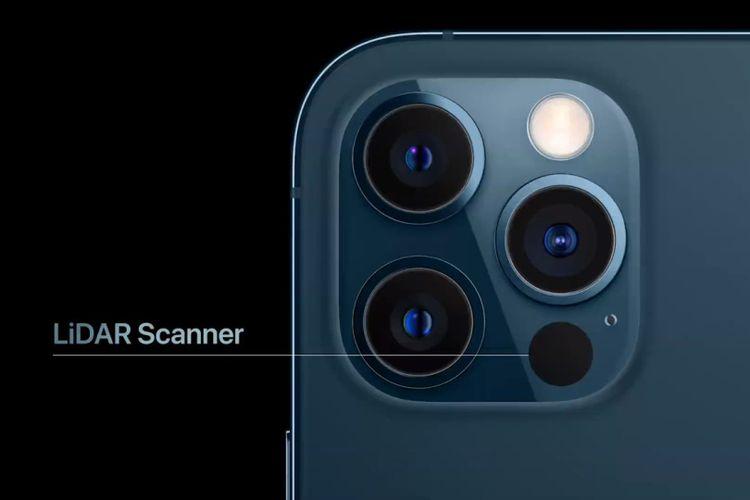 lidar scanner iPhone 12 pro