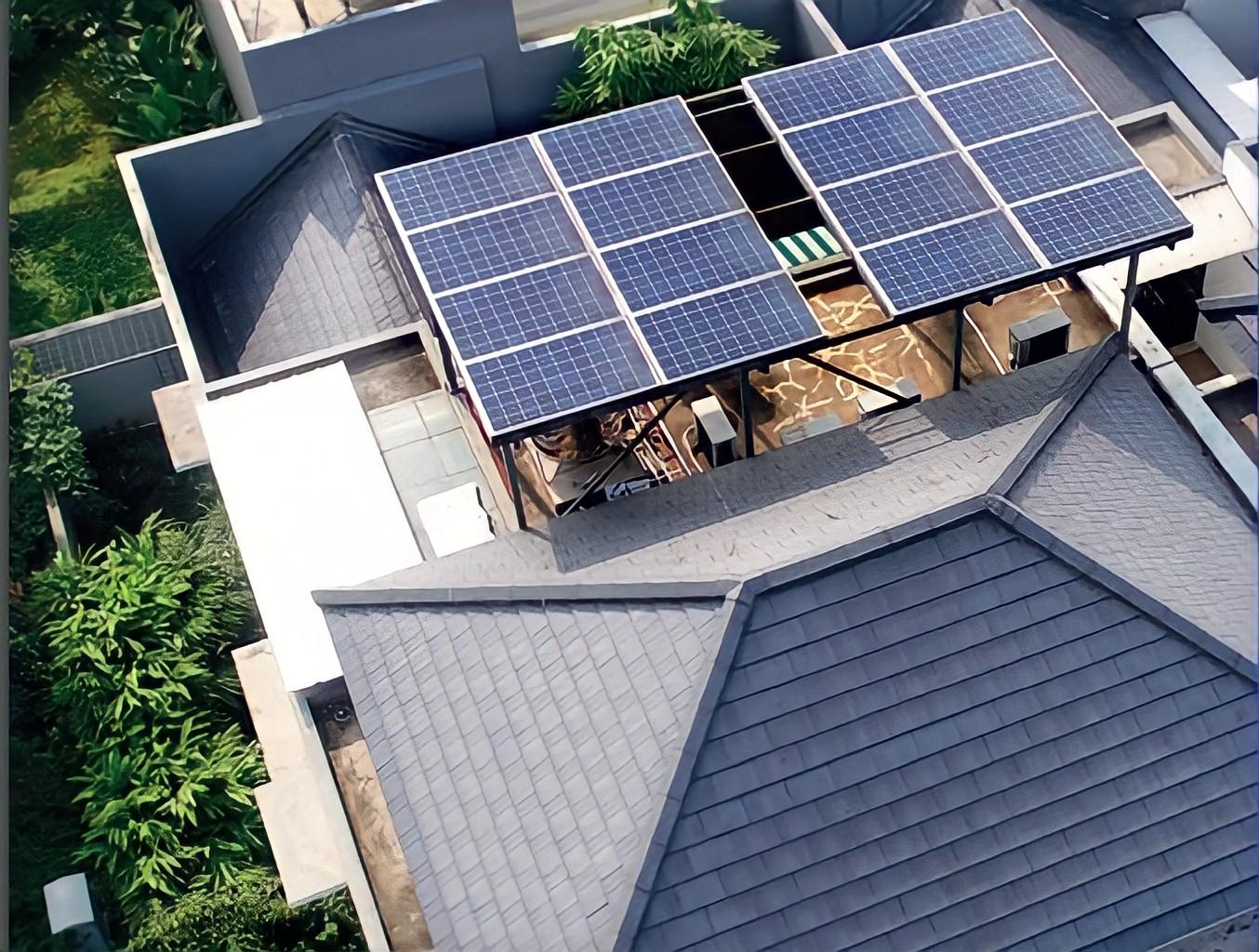 Rumah Indonesia dengan teknologi PLTS Atap | Foto: Ditjen EBTKE Kementerian ESDM