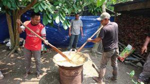 Tradisi Gotong Royong Beganjal dari Kepulauan Riau © kebudayaan.kemdikbud.go.id