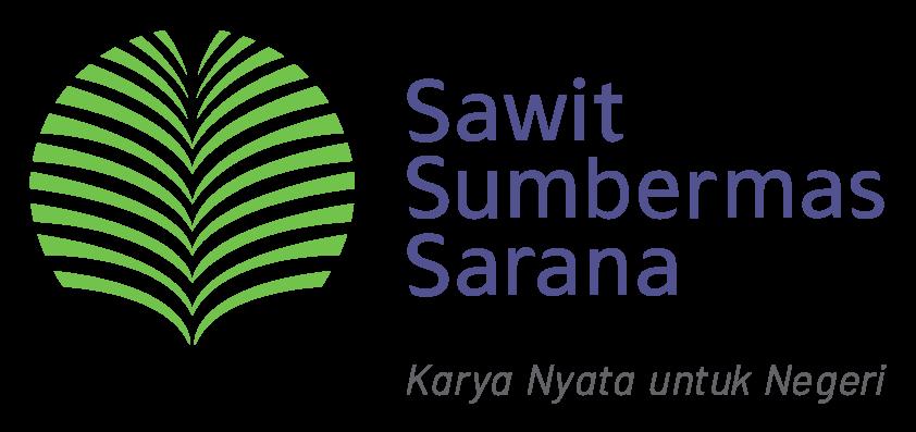 Logo Sawit Sumbermas dengan slogannya