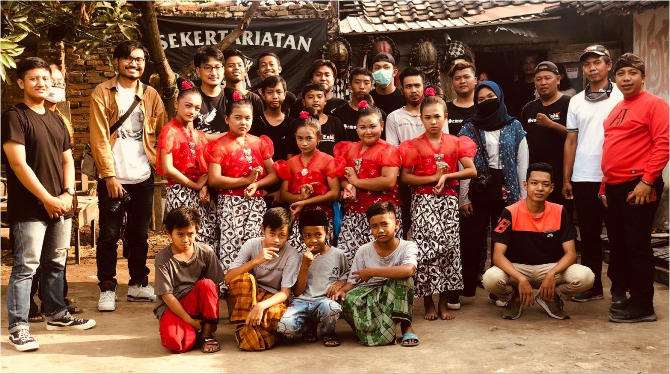 Penari cilik dari Sanggar Tari Semoyo Endo memeragakan Tari Bedayan Lumpia Budeg dan Gundul-Gundul Pacul dan Padang Bulan.