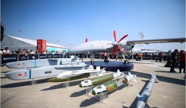 Drone Bayraktar TB2 buatan Turki @ Global Defence News