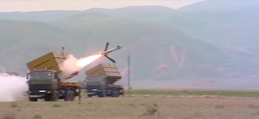 Drone Harop militer Azerbaijan   @ Alert 5