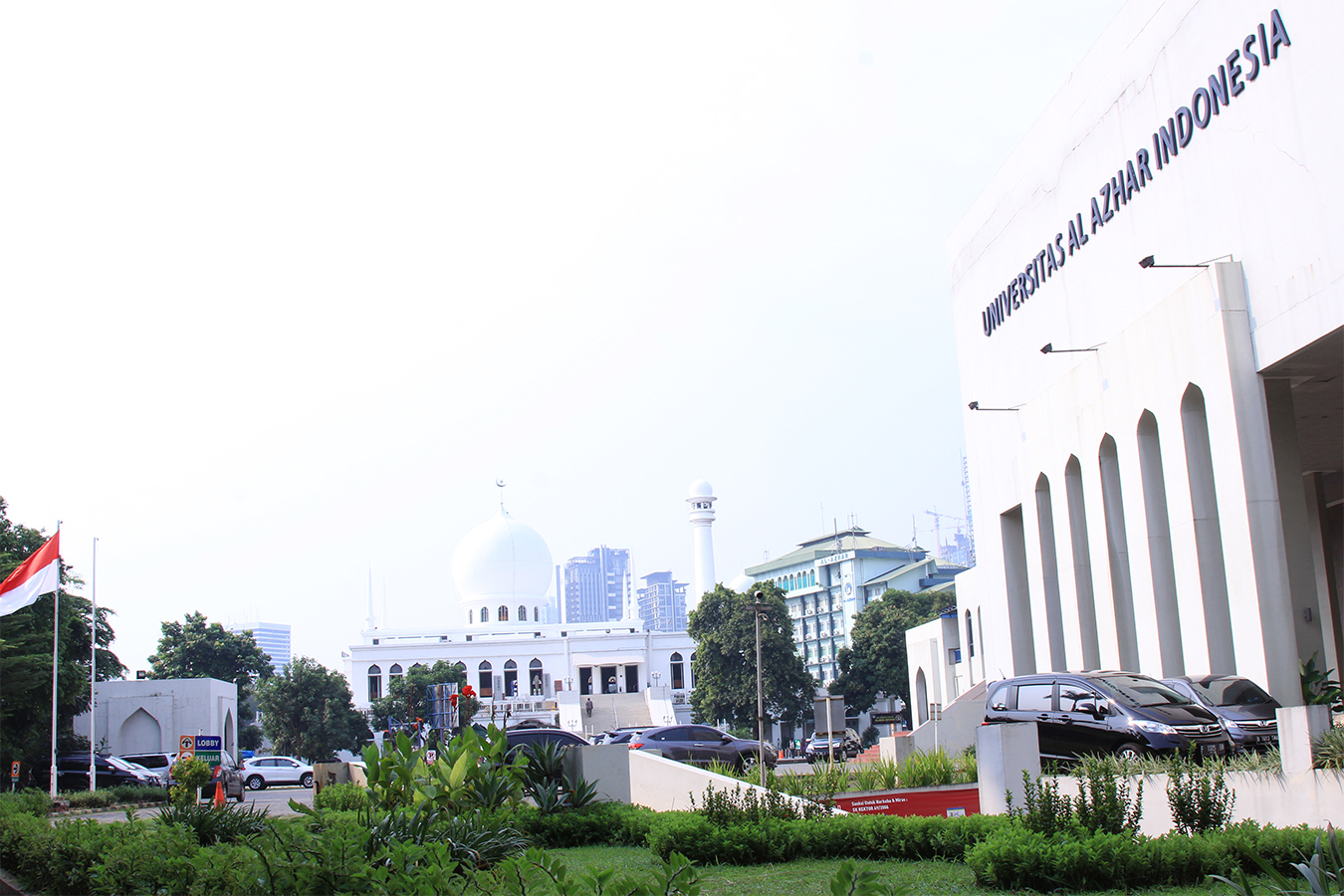 Area kampus Universitas Al Azhar Indonesia