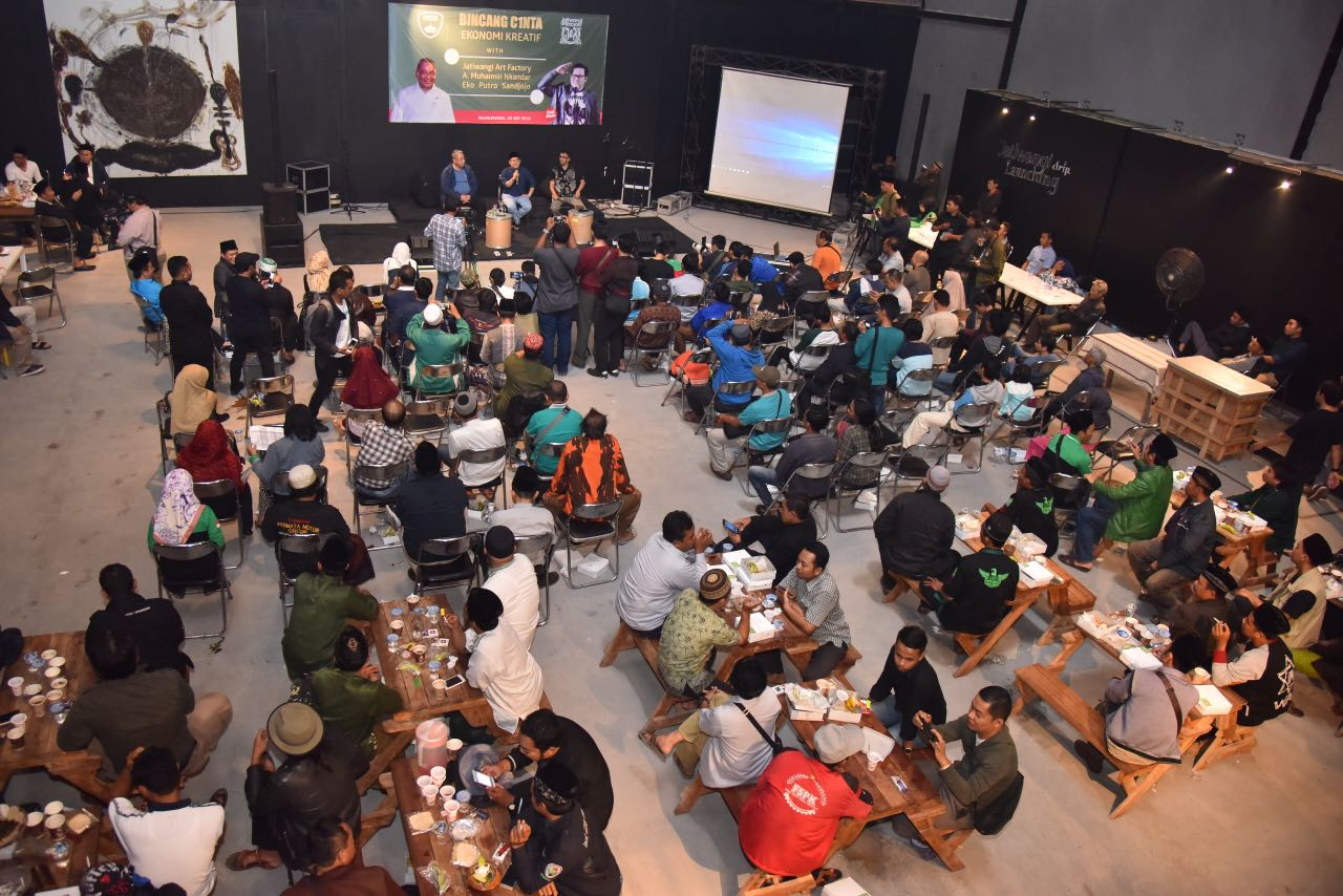 Suasana pada event ekonomi kreatif di JaF © Harian9