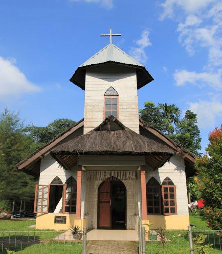 Gereja Batak Karo Protestan sekitar tahun 2018.