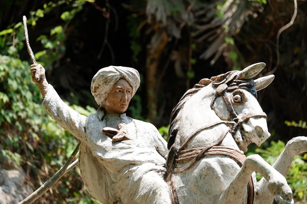 Patung Diponegoro di Kota Yogyakarta pada 2019.
