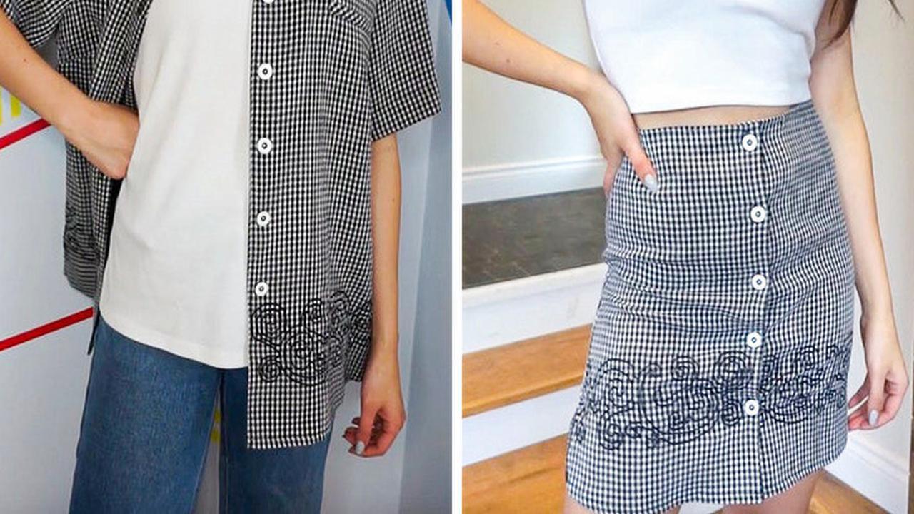 Kreasi pakaian © Liputan6.com