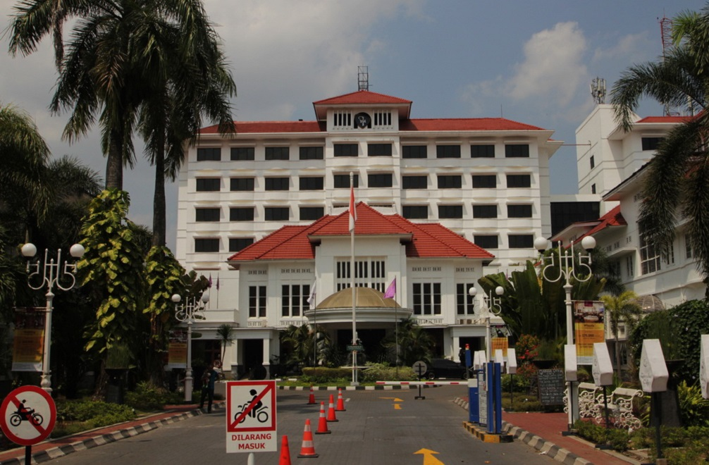 Hotel Inna Garuda di Jalan Malioboro, Yogyakarta, yang dulunya bernama Hotel Merdeka.