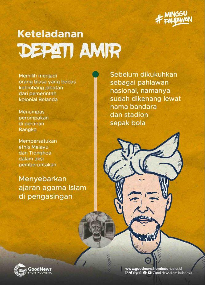 Infografik Depati Amir.