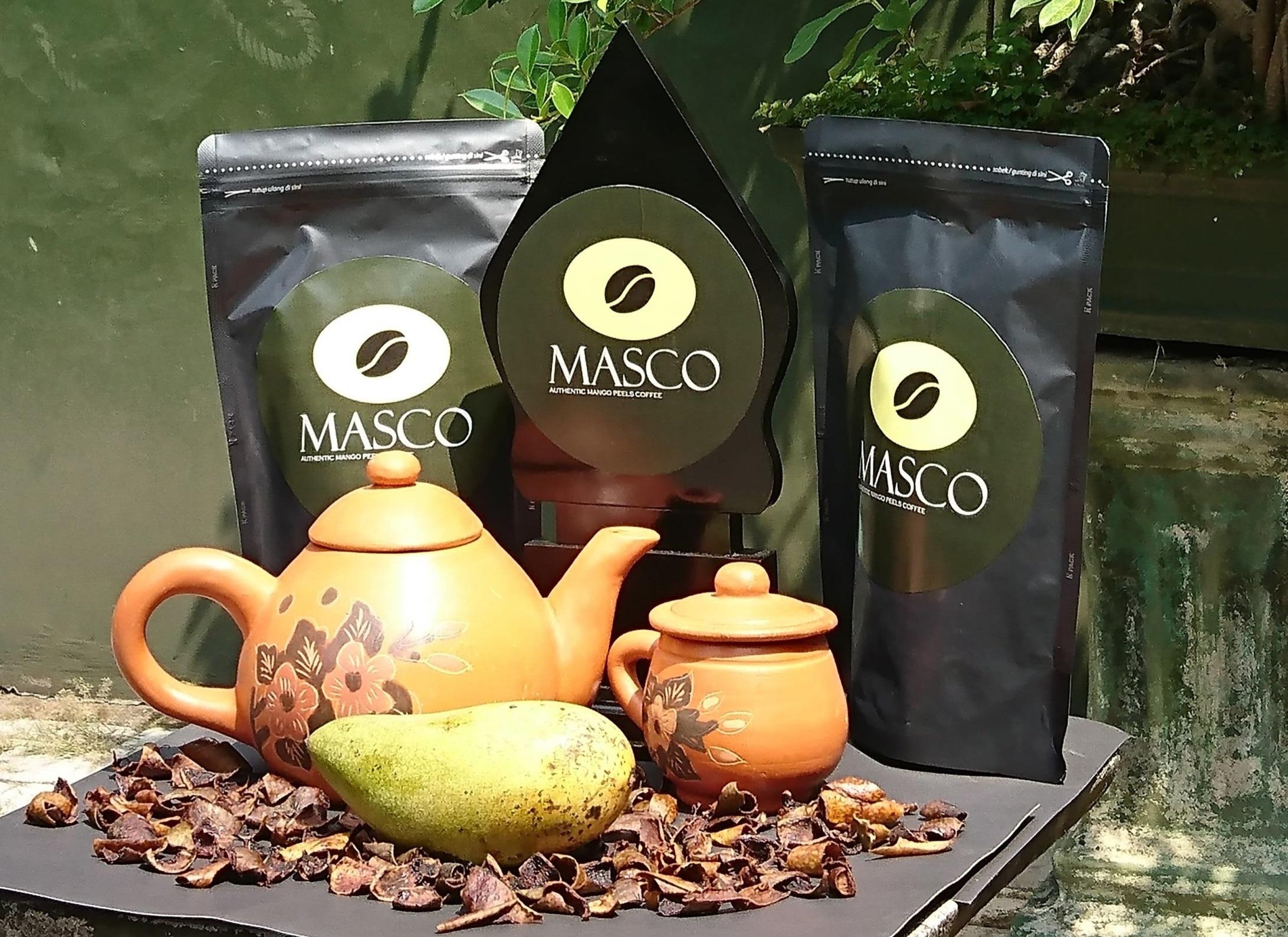 MASCO, kopi kulit mangga | Foto: Dokumentasi Pribadi