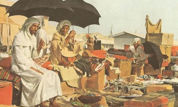 Ilustrasi pedagang dari Gujarat © Sejarahdekatdengankita.blogspot.com