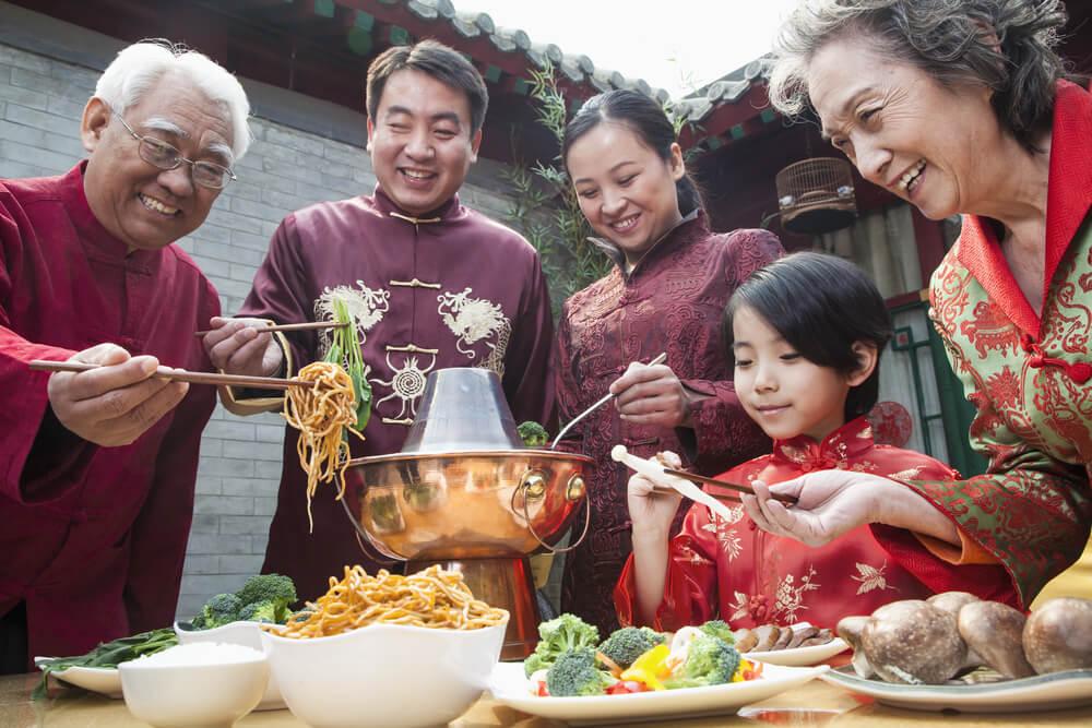 Menghabiskan Makanan di China