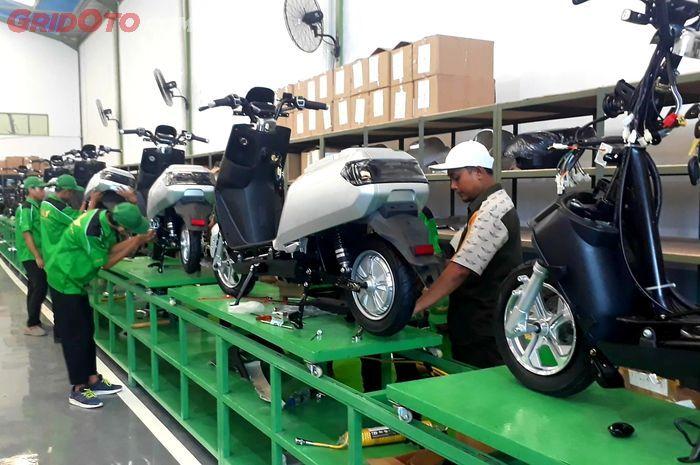 Produksi motor listrik wayang
