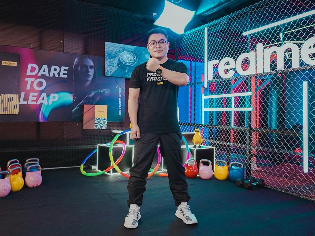 Marketing Director Realme Indonesia, Palson Yi (Realme Indonesia)