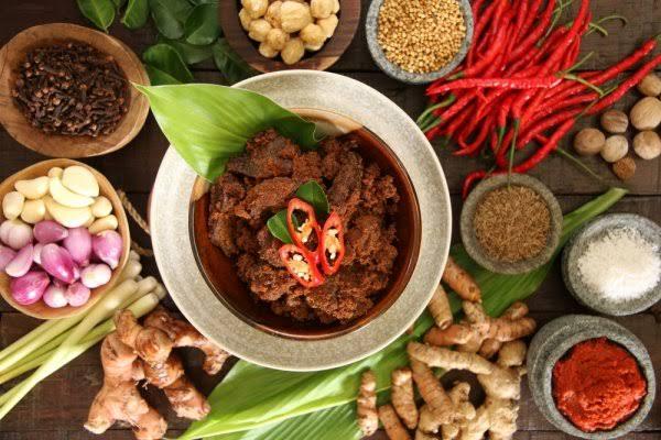 Bumbu masakan Padang © Bp-guide.id