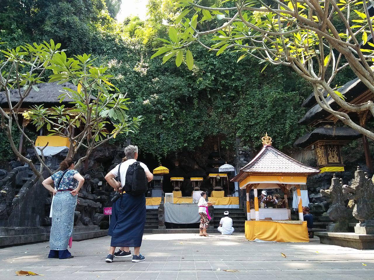 Bebukitan yang rimbun memberi makanan untuk kelelawar sekaligus air bersih untuk warga sekitar di kawasan gua lawah, Klungkung, Bali. Foto Luh De Suriyani diambil sebelum Pandemi