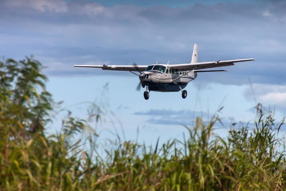 Sensasi Naik Pesawat di Papua