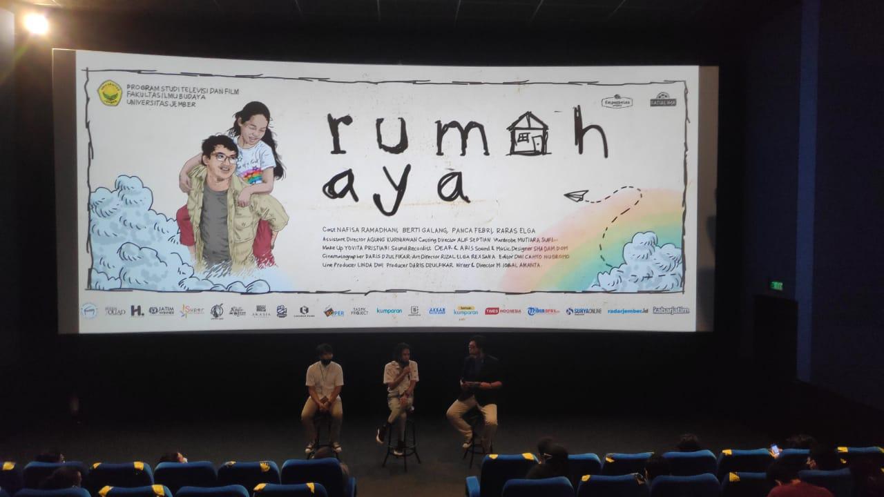 Pemutaran Film Rumah Aya di Bioskop Kota Cinema Mall Jember