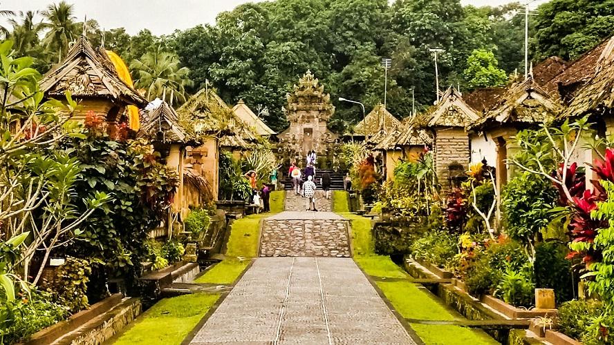 Desa Penglipuran di Bali