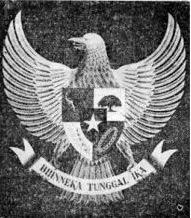 Garuda Pancasila saat dirilis pada 11 Februari 1950.