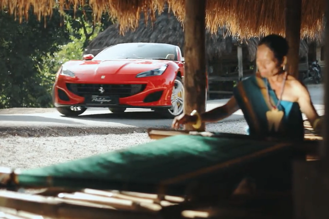 Ferrari portofino di sumba