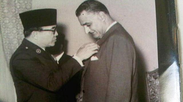 Soekarno dan Gamal Abdul Nasser | Merdeka.com