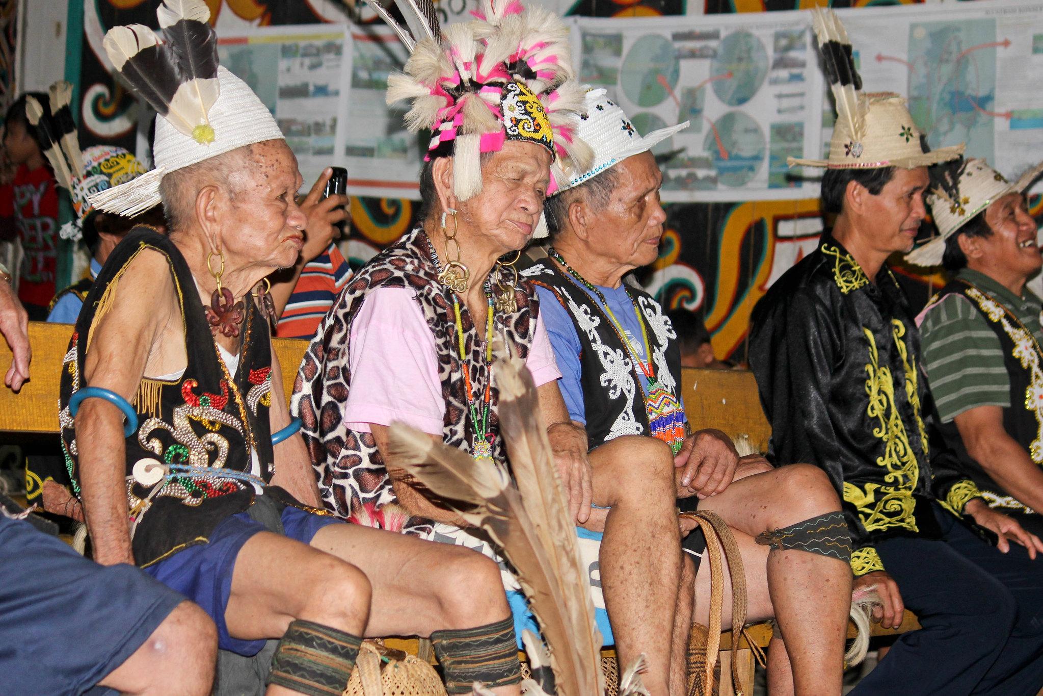Lelaki Dayak   Foto: Said Toni (flickr.com)
