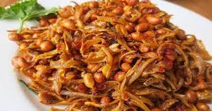 Masakan teri balado Sumber: Okezone.com