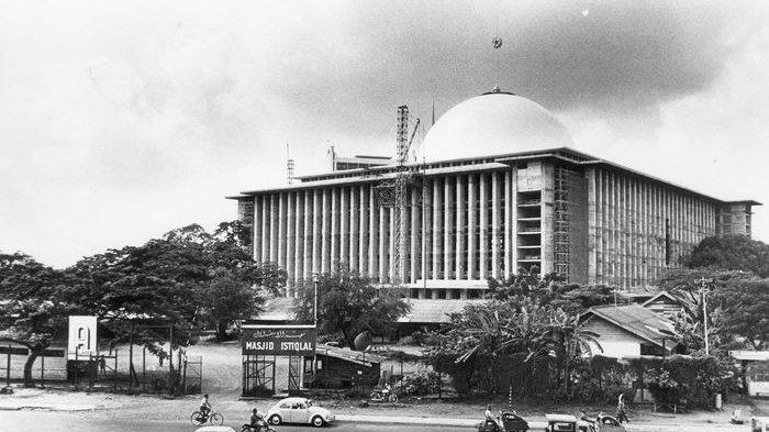 Masjid Istiqlal © Kompas.com