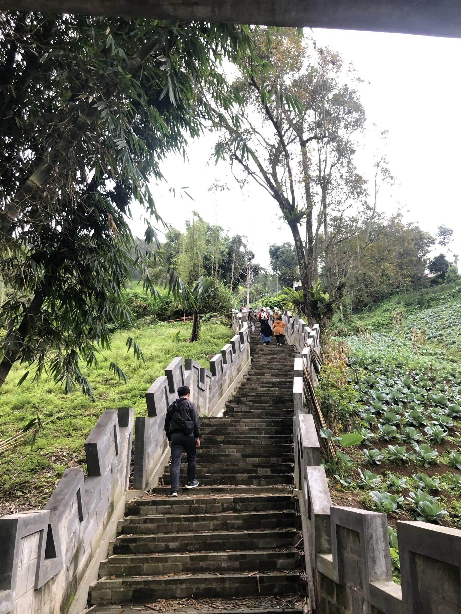 Janjang Sajuta Lereng Singgalang | Foto: Dokumentasi Pribadi
