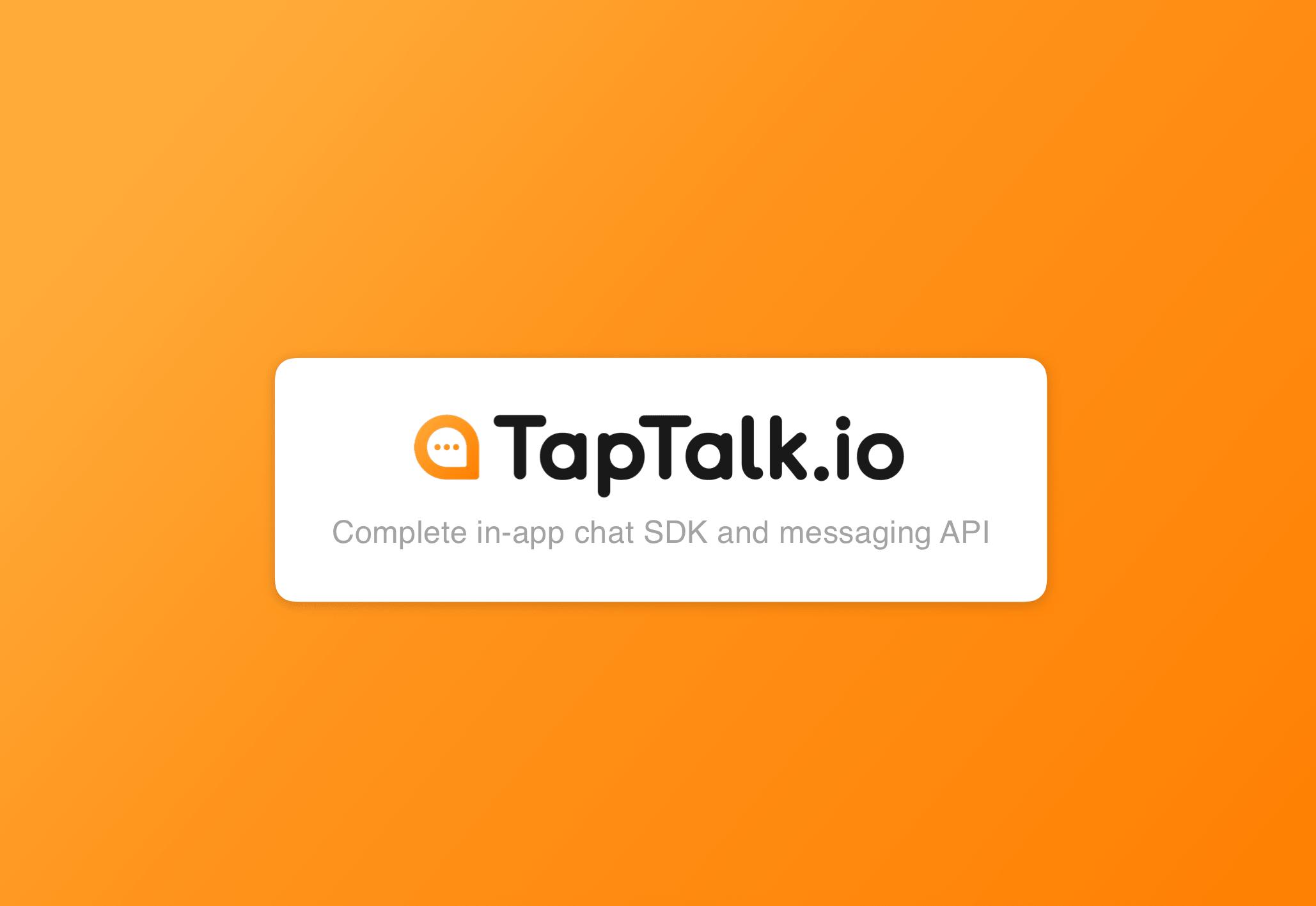 TapTalk.io Aplikasi Chat Buatan Anak Bangsa Ini Siap Saingi Aplikasi Chat  Global
