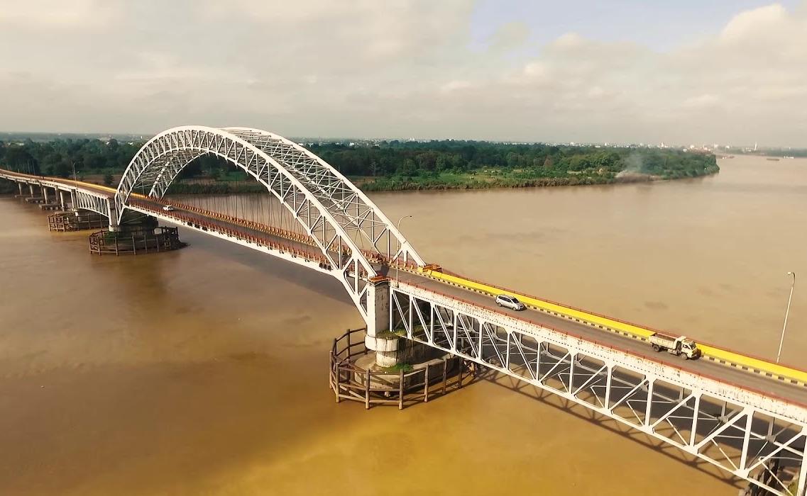 Jembatan Batanghari II, Kota Jambi © BP Jambi