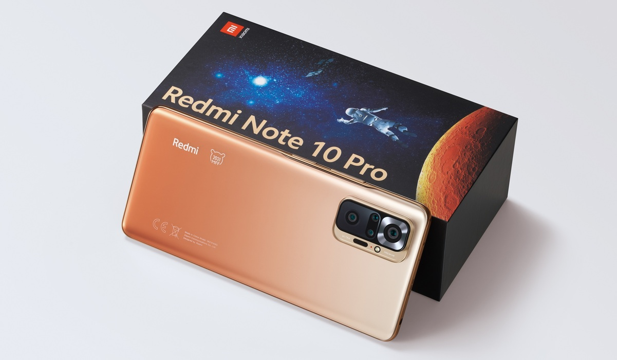 Ponsel Redmi Note 10 Pro MFF Special Edition