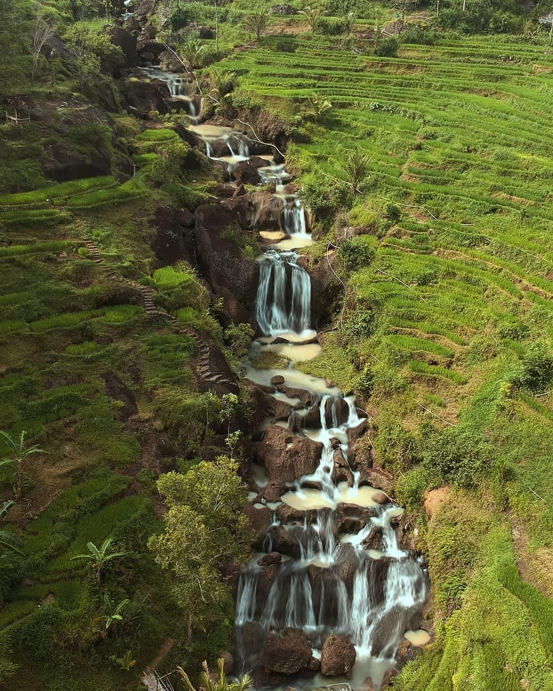 Air Terjun Kedung Kandang, Nglanggeran, Gunungkidul, Yogyakarta | Foto: Fajar Budi/jogjapost.com