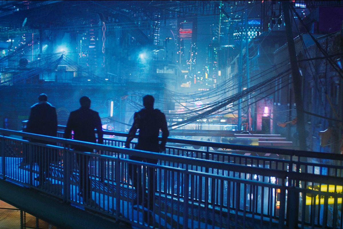Gambaran kota Madripoor di malam hari | Marvel