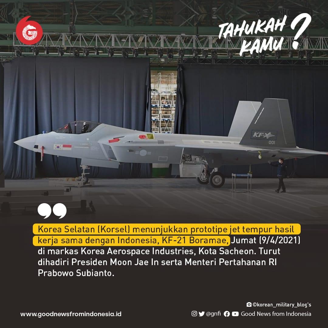 Prototipe Jet Tempur Korsel, KF-21 Baromae