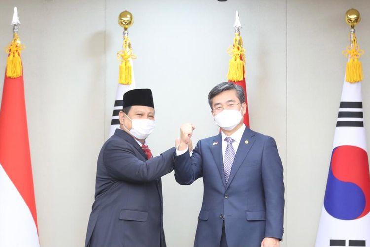 Prabowo dan Suh Wook tingkatkan kerja sama