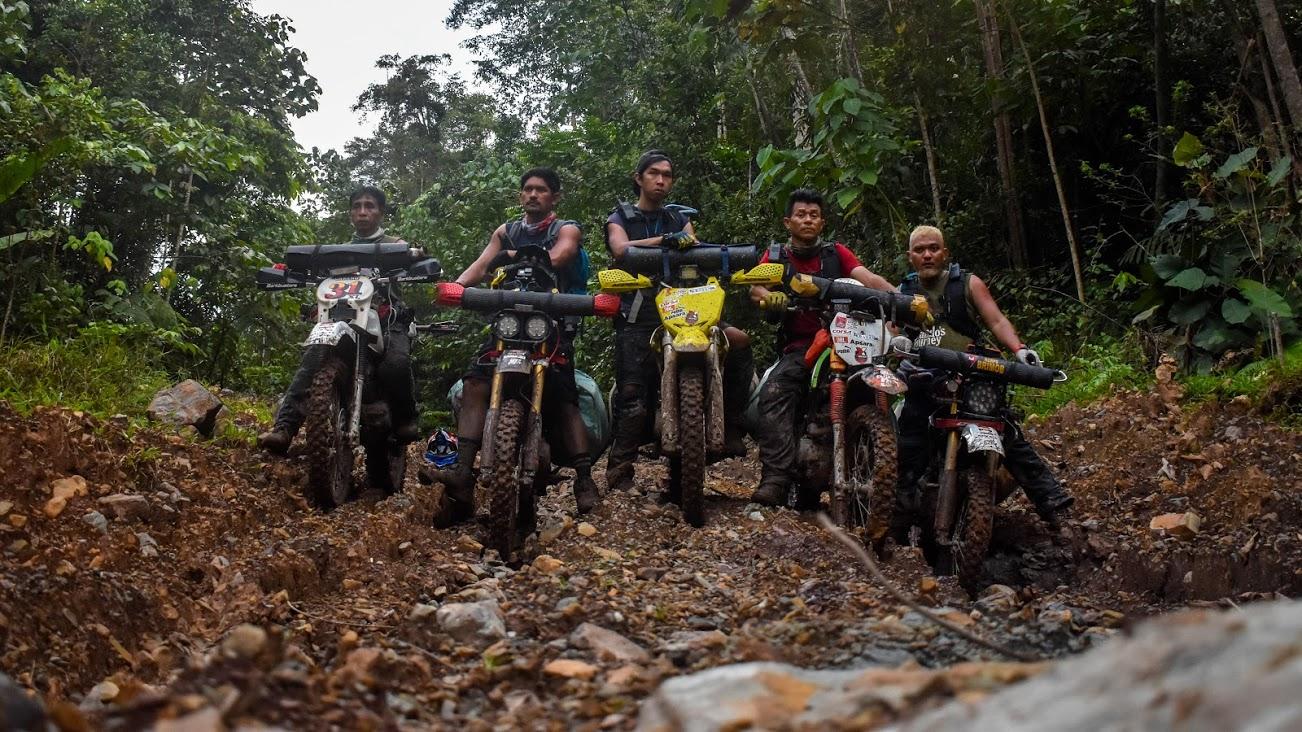 Tim Serigala Rider di Hutan Malinau-Krayan