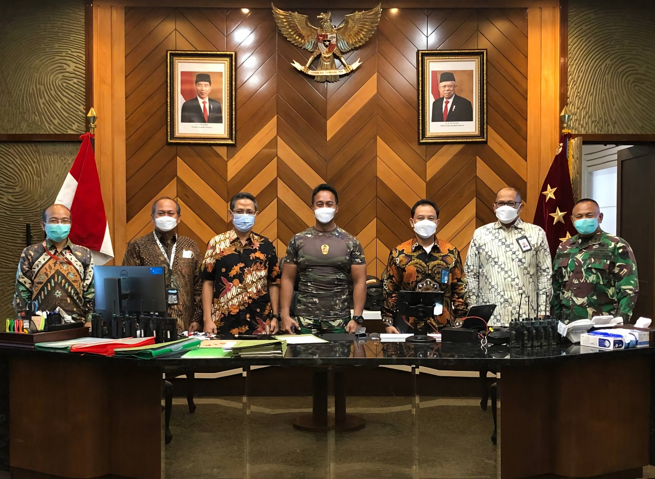telkom indonesia dan TNI