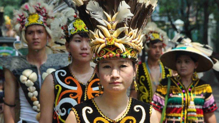 Suku Dayak . Foto | Tirto.id