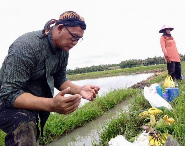 Tradisi Wiwitan   Foto: Bernas News