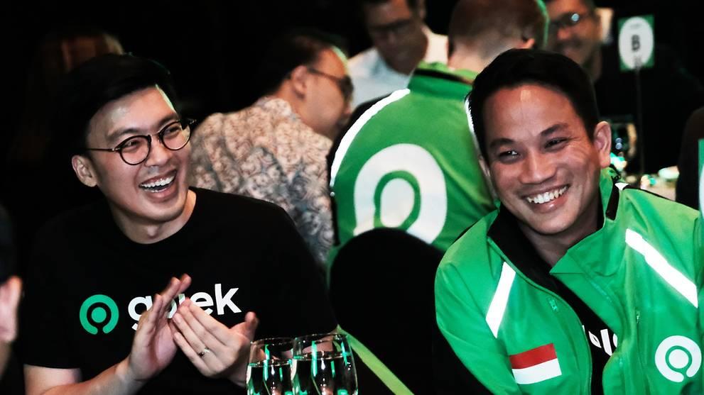 CEO baru Gojek co-chief Kevin Aluwi and Andre Soelistyo, calon CEO GoTo (Photo: Gojek)