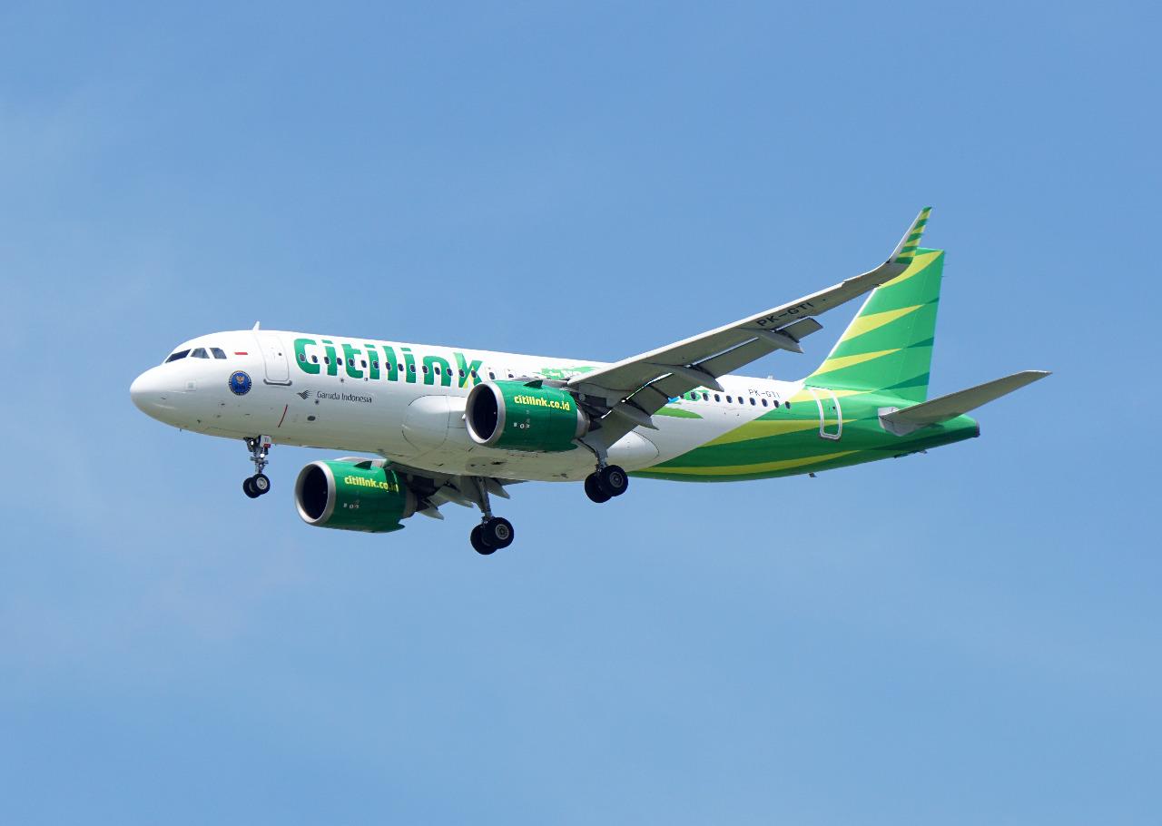 Citilink, maskapai yang meraih predikat sebagai Best Low Cost Airline di Asia sebanyak 3 kali © Ryan Fletchter/Shutterstock