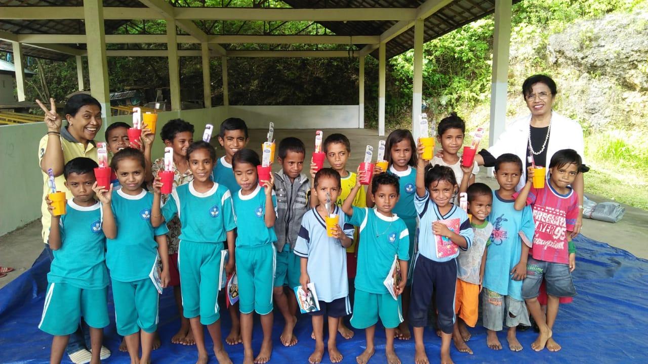 Salah Satu Kegiatan di Moluccas Green School | Dokumentasi Pribadi