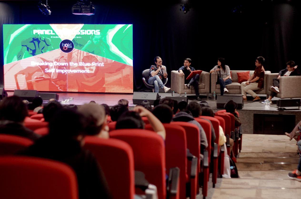 Bengkel animasi menyelenggarakan event Indonesian CG Heroes