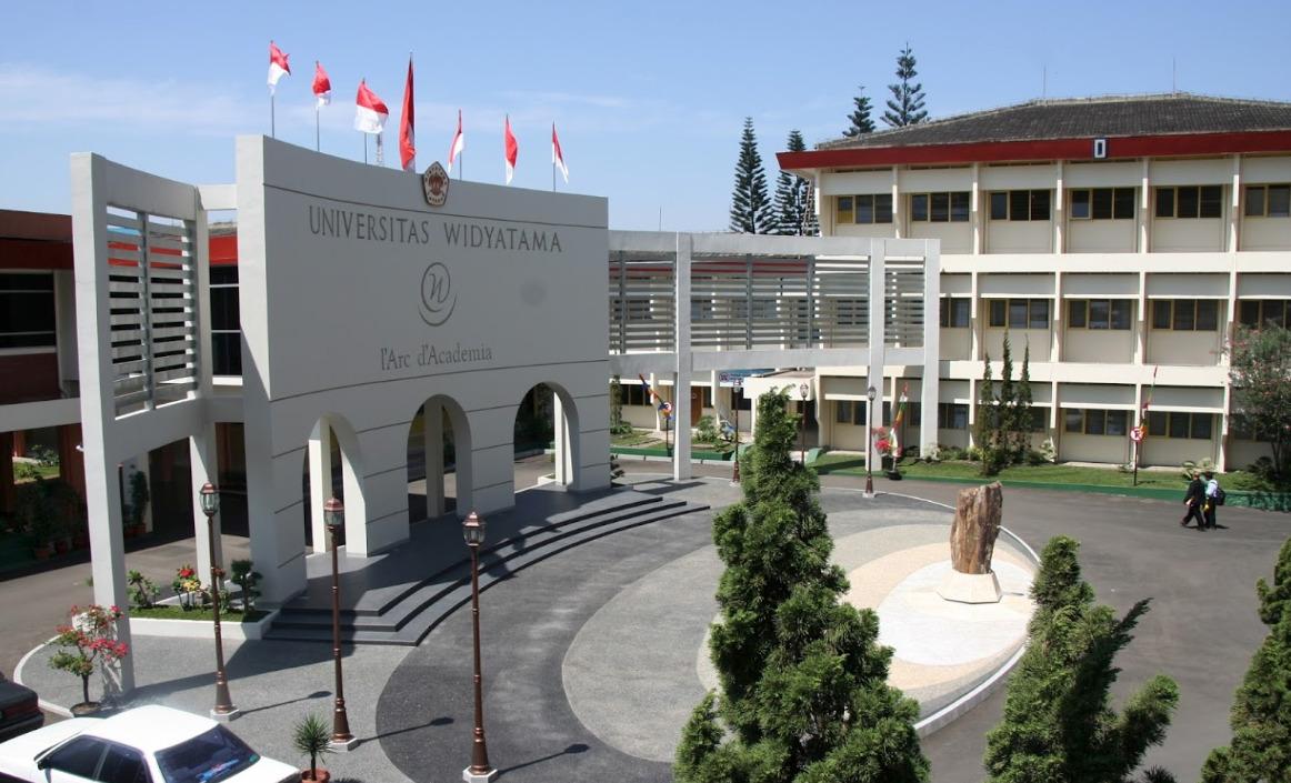 Kampus Universitas Widyatama, Bandung © Net Desain/Shutterstock