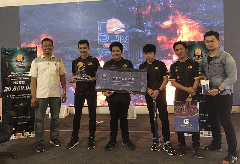 RRQ tim menjuarai MLC Arena Championship 2019