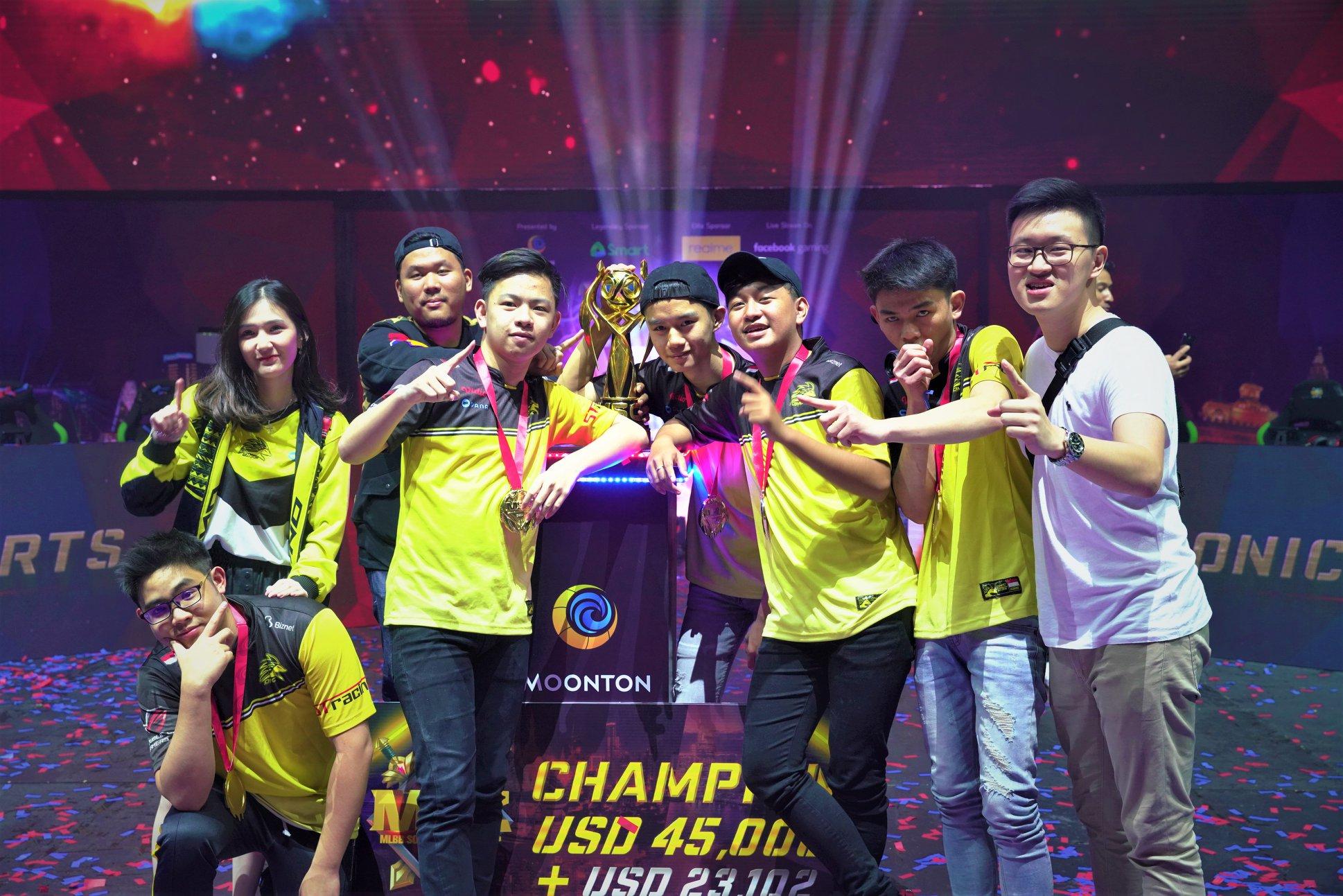 Onic esports menjuarai Mobile Legends: Bang Bang Southeast Asia Cup (MSC 2019)